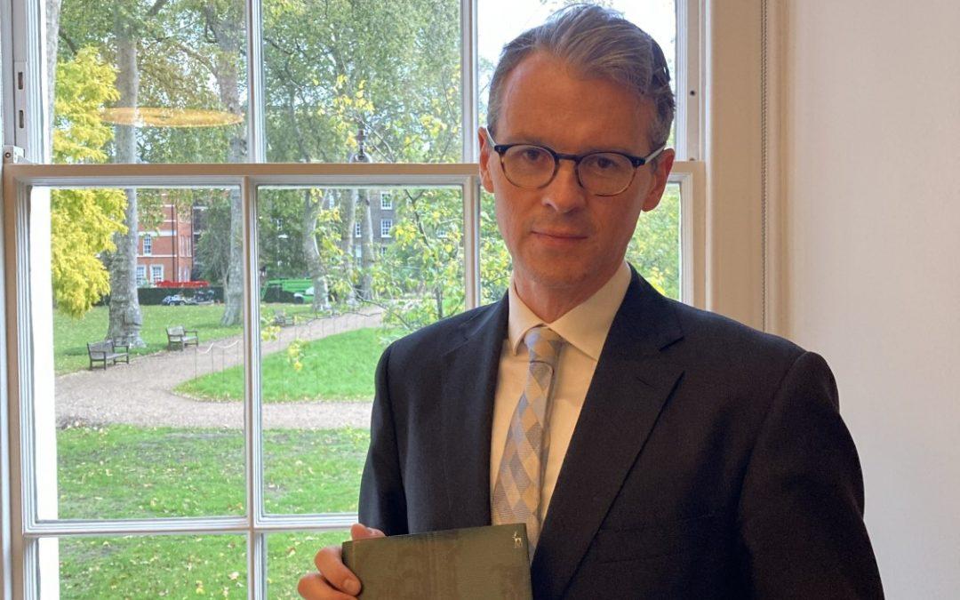Winner of the 2020 BILA Book Prize